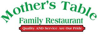 Mother's Table Family Restaurant